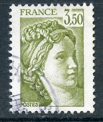 Stamp / Timbre France Oblitere N° 2121 Type Sabine