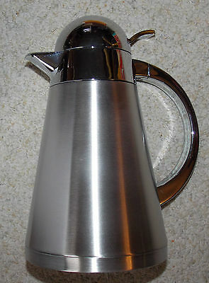 New Old Stock Myco New Wave 1 Litre Stainless Steelthermal Carafe