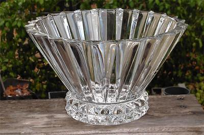 BEAUTIFUL Rosenthal Blossom Crystal Large Center Vegatable Serving Bowl EUC