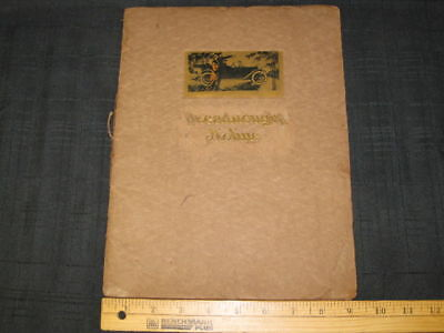 1913 Dreadnought Moline M-40 Catalog Sales Brochure