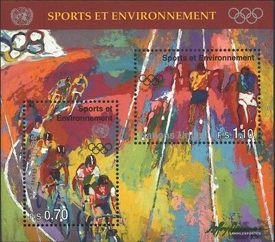 UN-Geneva block8 (complete issue) unmounted mint / never hinged 1996 Sports an