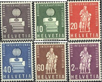 Switzerland IBE40-IBE45 (complete issue) unmounted mint / never hinged 1960 spec