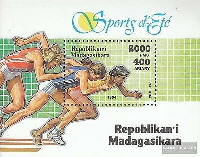 Madagascar block262 mint never hinged mnh 1994 Olympics Sports