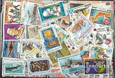 Qatar 25 different stamps