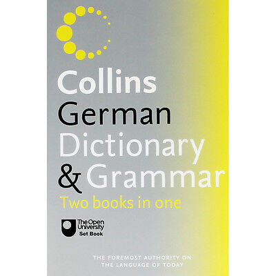 Collins German Dictionary and Grammar (Paperback), Back to School, Brand New