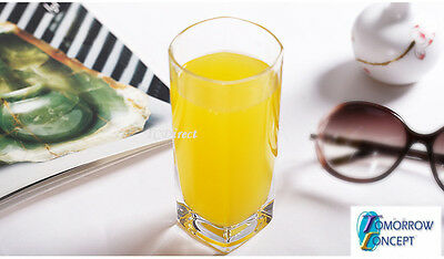 6x 330ml Tumblers Hi Ball Glasses Cafe Restaurant Bar Drinking (BJ1021)