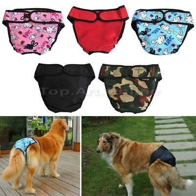 Elastic Puppy Pet Dog Physiological Sanitary Underwear Trousers Short Panty Pant
