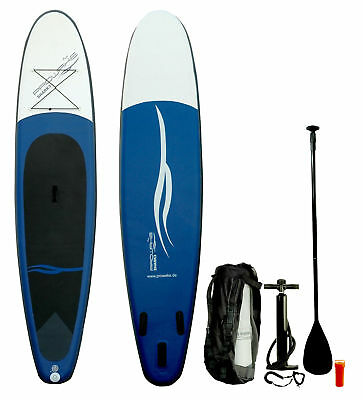 SUP Board Stand Up Paddle Surf-Board aufblasbar inkl. Paddel ISUP Paddling 335cm