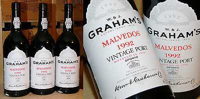 1992er Vintage Port - Graham's Malvedos - Top *****