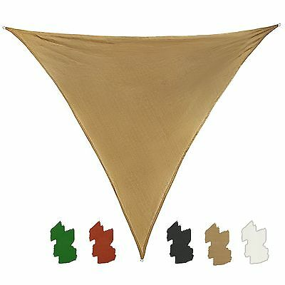 Ventus Sail Shade Sun Canopy SUN DIEGO triangular 3,6 x 3,6 x 3,6 m many colors