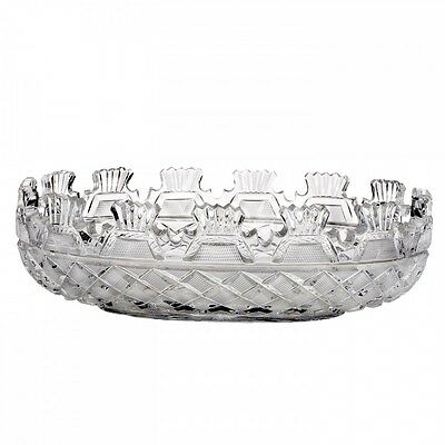 Waterford Crystal Heritage Collection Kennedy 14 Inch Oval Bowl