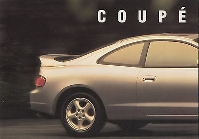 Toyota Celica Mk6 (T200) Preview Brochure - 1993 - GT-Four