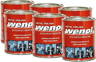 Wenol Metal Polish Case of 6 1000 ml Cans - FREE SHIP!