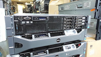 DELL PowerEdge R710 2x quad core Xeon  48GB RAM 3x300gb sas  + RAILS bezel 870w