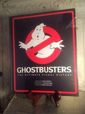 Ghostbusters The Ultimate Visual History Daniel Wallace 978-1-608871510-8 Sealed
