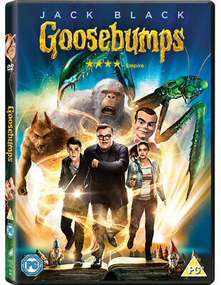 Goosebumps DVD (2016) Jack Black