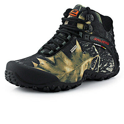 Waterproof Hiking Shoes Boots Anti-skid Wear Resistant Breathable Fishing Shoes