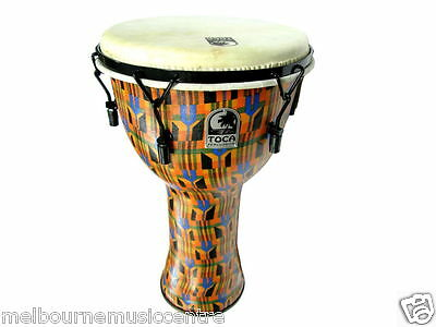 """TOCA 9"""" DJEMBE Mechanically Tuned *Excellent Bass Tones & Highs* NEW!"""