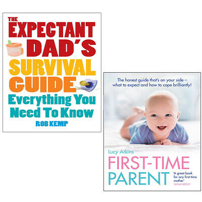 Expectant Dad's Survival Guide 2 Books Collection Set First-Time Parent,New