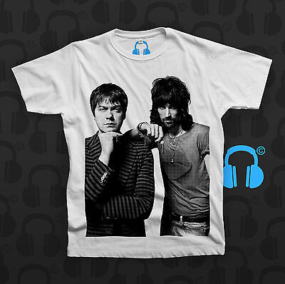 KASABIAN SCENESTER BAND TOM SERGIO T SHIRT NEW OFFICIAL WEST RYDER EMPIRE 48:13