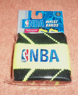 NBA : Neon Yellow Wristbands - Pack of 2 - New