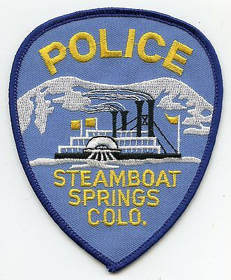 Steamboat Springs Colorado Co Police Patch