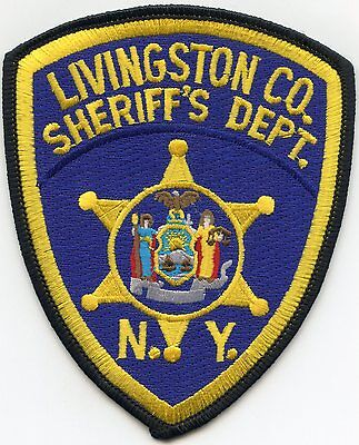 Livingston County New York Ny Sheriff Police Patch