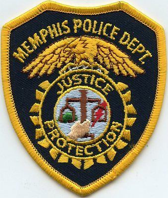 Memphis Tennessee Tn Police Patch