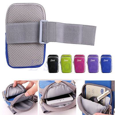Outdoor Sports Running Jogging Arm Band Bag Case Pouch For iPhone 6 Plus Samsung