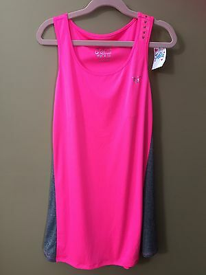 78002df67d Girls 18 Justice Athletic NEW NWT  15 Pink Gray Tank Top Shirt
