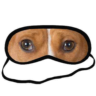 Cute Adorable BASENJI EYES Dog Puppy Lovers Small-Med Size SLEEP MASK Gift
