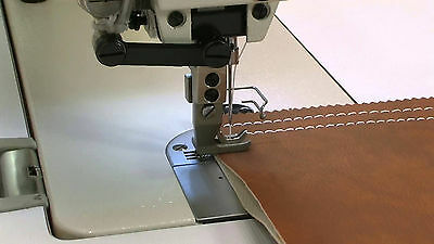 New Walking Foot Leather Sewing Machine With Fine Speed Adjustable Servo Motor
