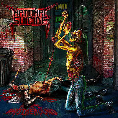 NATIONAL SUICIDE - Anotheround - LP Red [limited 100]