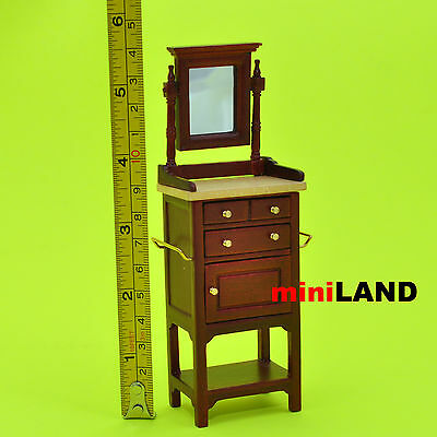 XY560M Heidi Ott shaving stand Dollhouse Miniature 1:12 Scale Makeup Dressing