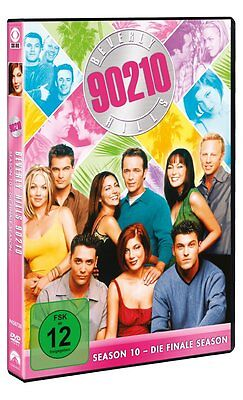 6 DVDs * BEVERLY HILLS 90210 - FINALE STAFFEL / SEASON 10 - MB # NEU OVP =