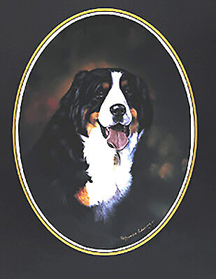 Bernese Mountain Dog Lapel Pin