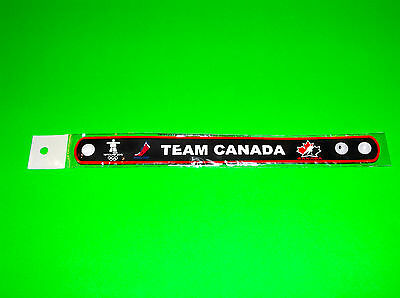 Canada Olympic Hockey Team World Juniors Ladies Black Wristband