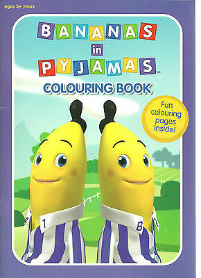 Bananas In Pyjamas Colouring Book Join B1 & B2 For Some Great Colouring Fun