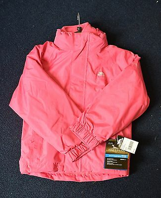BNWT Trespass Petal Pink Skydive 3in1 Jacket - Size 5-6 Years