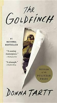 The Goldfinch by Donna Tartt (English) Mass Market Paperback Book Free Shipping!