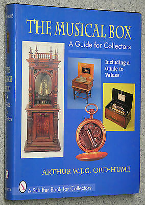 The Musical Box Guide for Collectors Including Guide to Values CARILLON ORGANETT