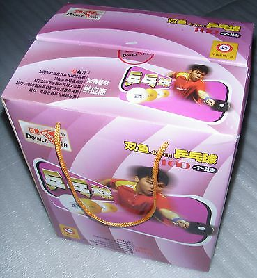 100pc Double Fish ping pong balls; local pick up, nice ship with table or robot