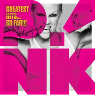 Pink : Greatest Hits... So Far!!! CD Deluxe  Album with DVD 2 discs (2010)