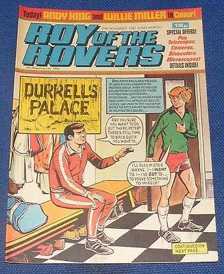 Roy Of The Rovers Comic 27Th November 1982 Sign Please - Andy King