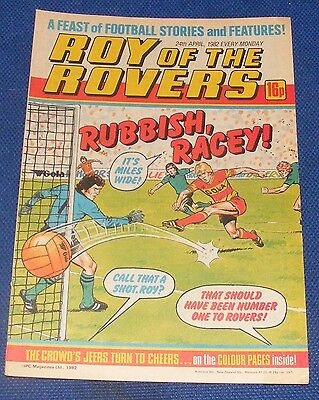 Roy Of The Rovers Comic 24Th April 1982  Sign Please Bobby Russell