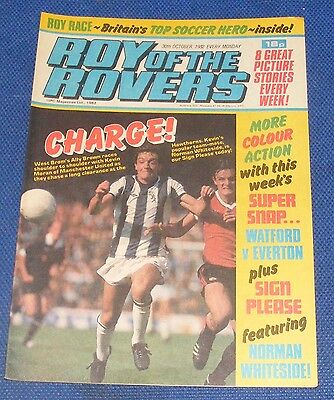 Roy Of The Rovers Comic 30Th October 1982  Sign Please Norman Whiteside