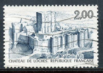Stamp / Timbre France Oblitere N° 2402  Chateau De Loches