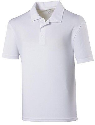 AWDis Mens Just Cool SuperCool Lightweight Breathable Performance Polo Shirt