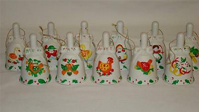 JC Penny 12 Days of Christmas Collection Bell Ornaments 1 Missing