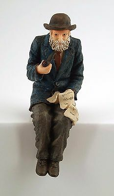 """1/12Th  Dolls House """"grandfather""""   With Pipe Figure"""